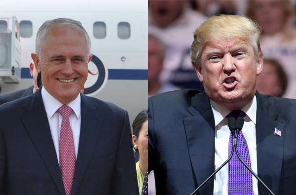 Trump and Turnbull