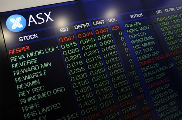 Australian shares - ASX