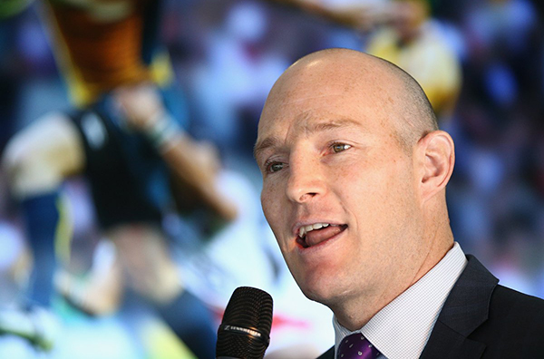 Stirling Mortlock - rugby and managing money