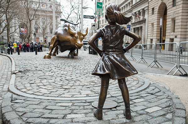 Fearless girl - Wall Street