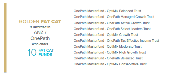 ANZ one path funds