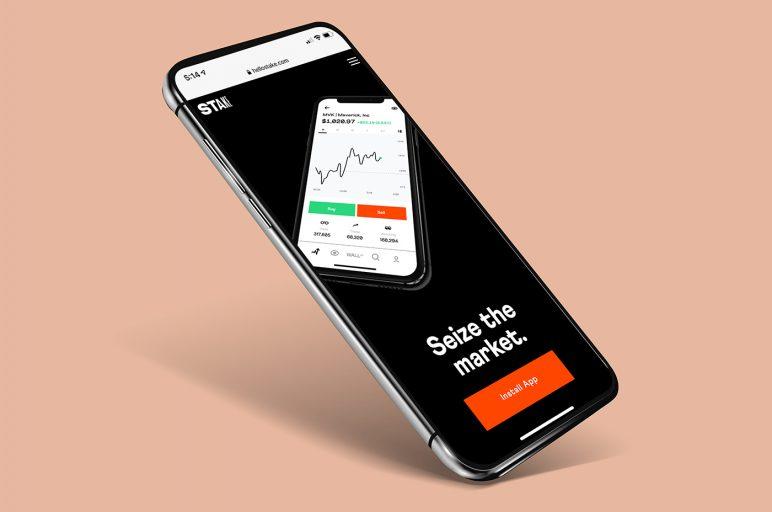 Stake investing app
